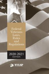Federal Veterans Laws, Rules and Regulations cover