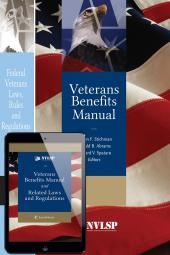 Veterans Benefits Manual; Federal Veterans Laws, Rules and Regulations; and Veterans Benefits Manual and Related Laws and Regulations on eBook (Bundle) cover