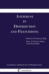 Antitrust in Distribution and Franchising cover