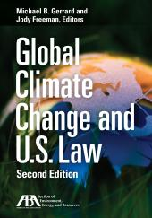 Global Climate Change and U.S. Law cover