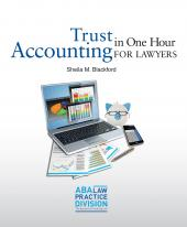 Trust Accounting in One Hour for Lawyers eBook cover