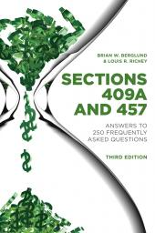 Sections 409A and 457: Answers to 250 Frequently Asked Questions cover