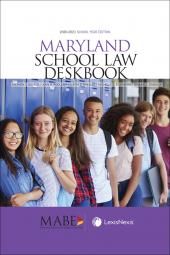 Maryland School Law Deskbook cover