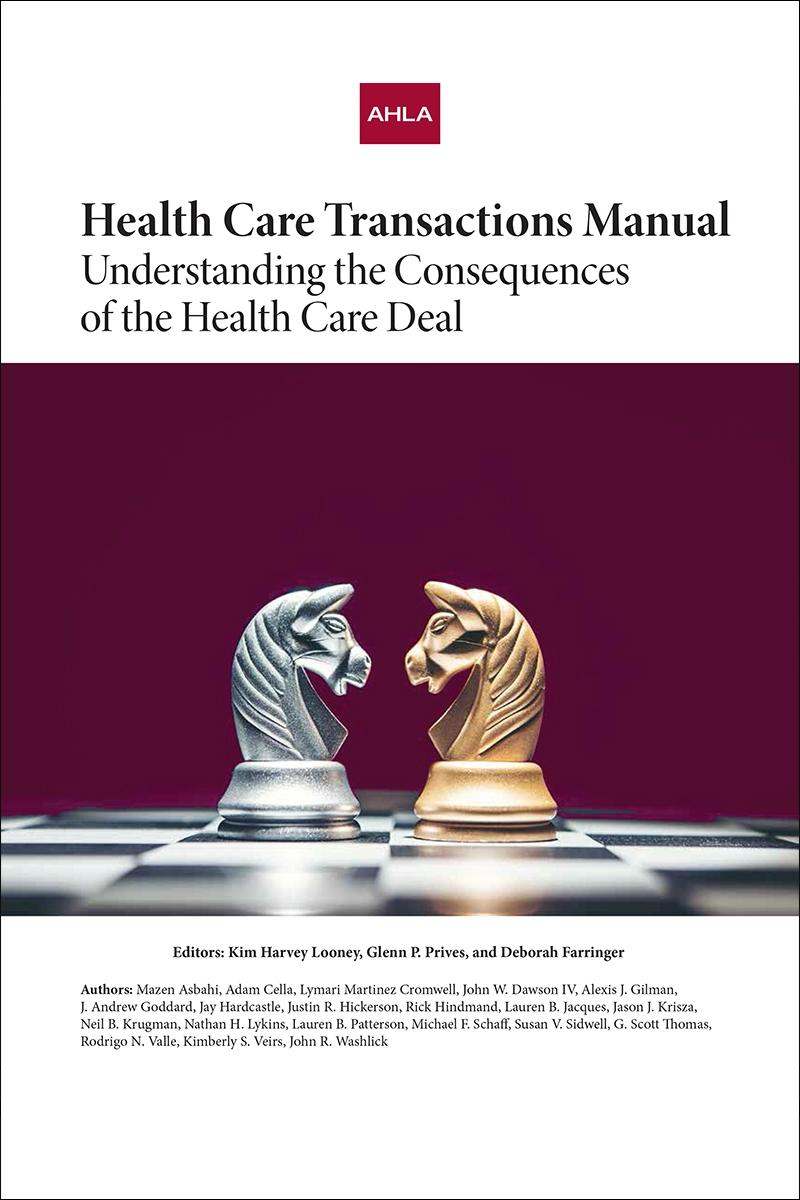 Purchase the Health Care Transactions Manual