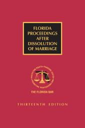Florida Proceedings After Dissolution Of Marriage cover