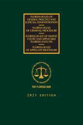 Florida Criminal, Traffic Court, Appellate Rules of Procedure, and Rules of Judicial Administration cover