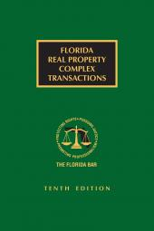 Florida Real Property Complex Transactions cover
