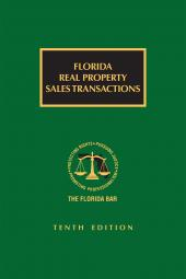 Florida Real Property Sales Transactions cover