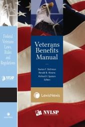 Veterans Benefits Manual and Federal Veterans Laws, Rules and Regulations (Bundle) cover