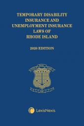 Temporary Disability Insurance and Unemployment Insurance Laws of Rhode Island cover
