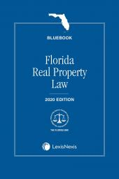 Florida Real Property Law (Bluebook) cover