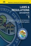 California Department of Housing and Community Development, Laws and Regulations,  2 Volume Set cover