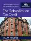 The Rehabilitation Tax Credit cover