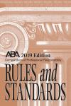 Compendium of Professional Responsibility Rules and Standards cover