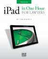 iPad in One Hour for Lawyers cover