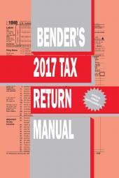 Bender's Tax Return Manual cover