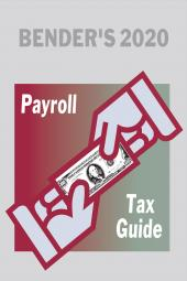 Bender's Payroll Tax Guide cover