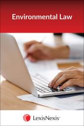 California Environmental Law Package - LexisNexis Folio cover