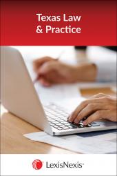 Texas Practice: Litigation and Transactions with Interrogatories - LexisNexis Folio cover
