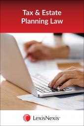 Tax and Estate Planning  Library - LexisNexis Folio cover