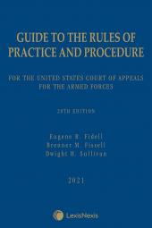 Guide to the Rules of Practice and Procedure for the United States Court of Appeals for the Armed Forces cover