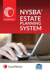 LexisNexis® New York State Bar Association's Automated Estate Planning System cover