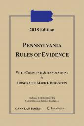 Pennsylvania Rules of Evidence cover