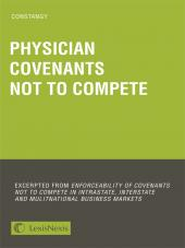 Constangy on Physician Covenants Not to Compete cover