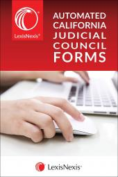 LexisNexis® Automated California Judicial Council Forms cover