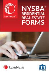 LexisNexis® New York State Bar Association's Automated Residential Real Estate Forms (NYSBA Members) cover