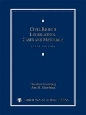 Civil Rights Legislation: Cases and Materials cover