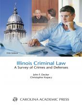Illinois Criminal Law Student Edition cover