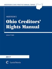 Anderson's Ohio Creditor's Rights Manual cover