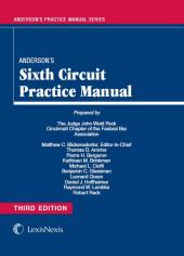 Anderson's Sixth Circuit Practice Manual cover