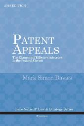 Patent Appeals: The Elements of Effective Advocacy in the Federal Circuit cover