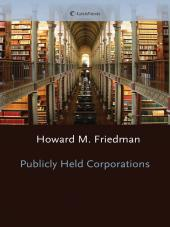 Publicly Held Corporations cover