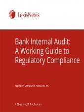 Bank Internal Audit: A Working Guide to Regulatory Compliance cover