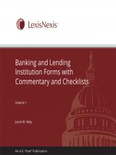 Banking and Lending Institution Forms With Commentary and Checklists cover
