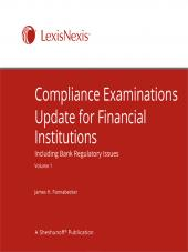Compliance Examinations Update for Financial Institutions cover