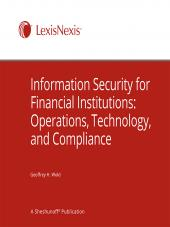 Information Security for Financial Institutions: Operations, Technology, and Compliance cover