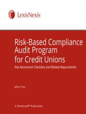 Risk Based Compliance Audit Program for Credit Unions cover