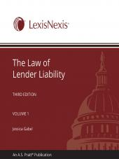 The Law of Lender Liability cover