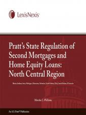 Pratt's State Regulation of 2nd Mortgages & Home Equity Loans - North Central cover