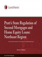 Pratt's State Regulation of 2nd Mortgages & Home Equity Loans - Northeast cover