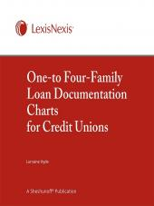One-to-Four-Family Loan Documentation Charts for Credit Unions cover
