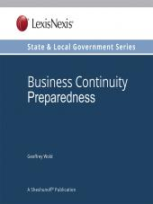 Business Continuity Preparedness, State and Local Government Series cover