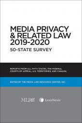 Media Privacy & Related Law 50-State Survey (Non-Members) cover