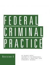 Federal Criminal Practice cover