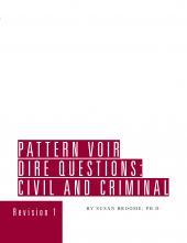 Pattern Voir Dire Questions cover
