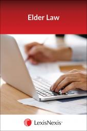 New York Guide to Tax, Estate & Financial Planning for the Elderly - LexisNexis Folio cover